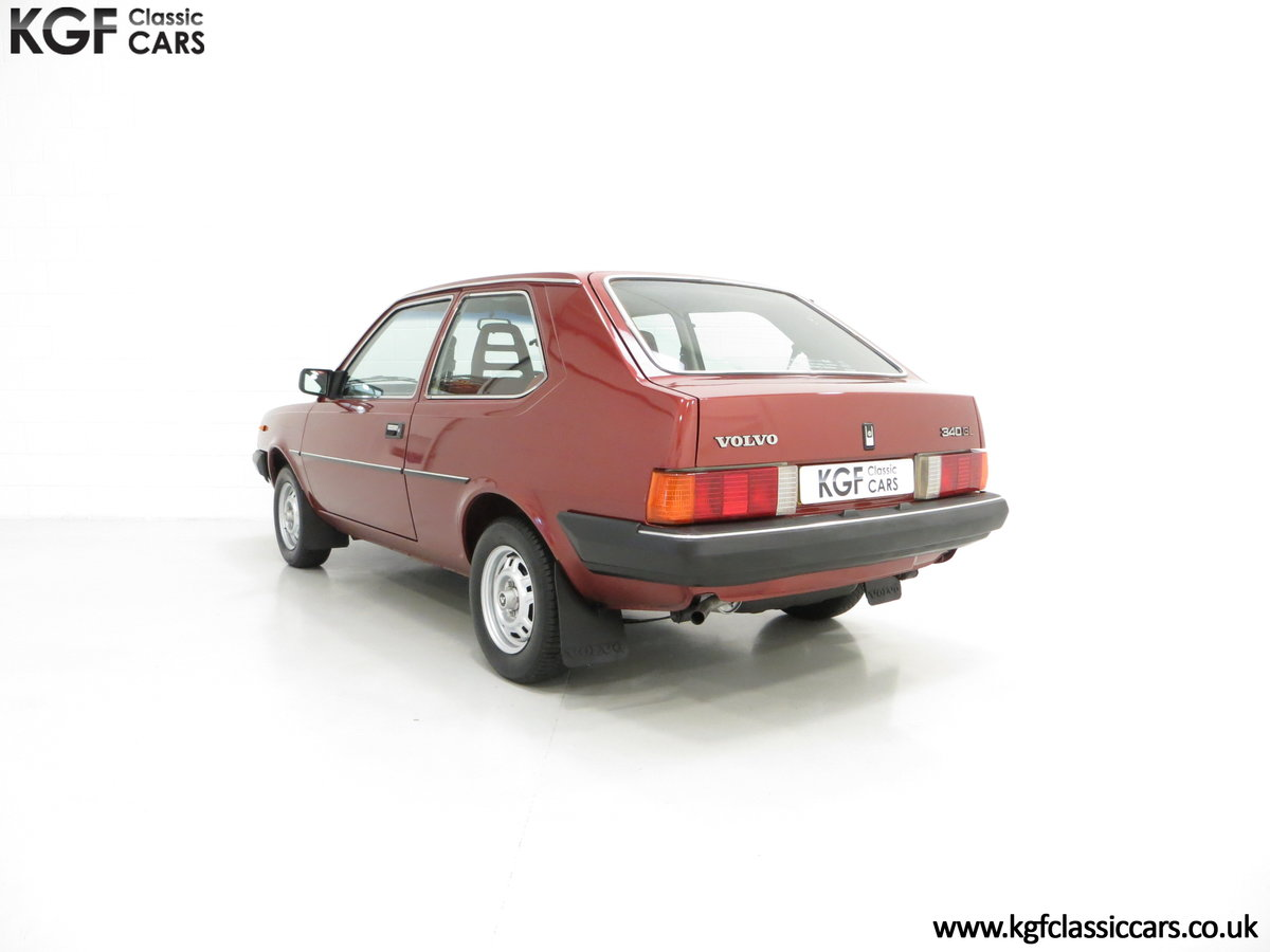 1984 An Astonishing and Original Volvo 340 GL with 9,843 Miles SOLD (picture 4 of 6)