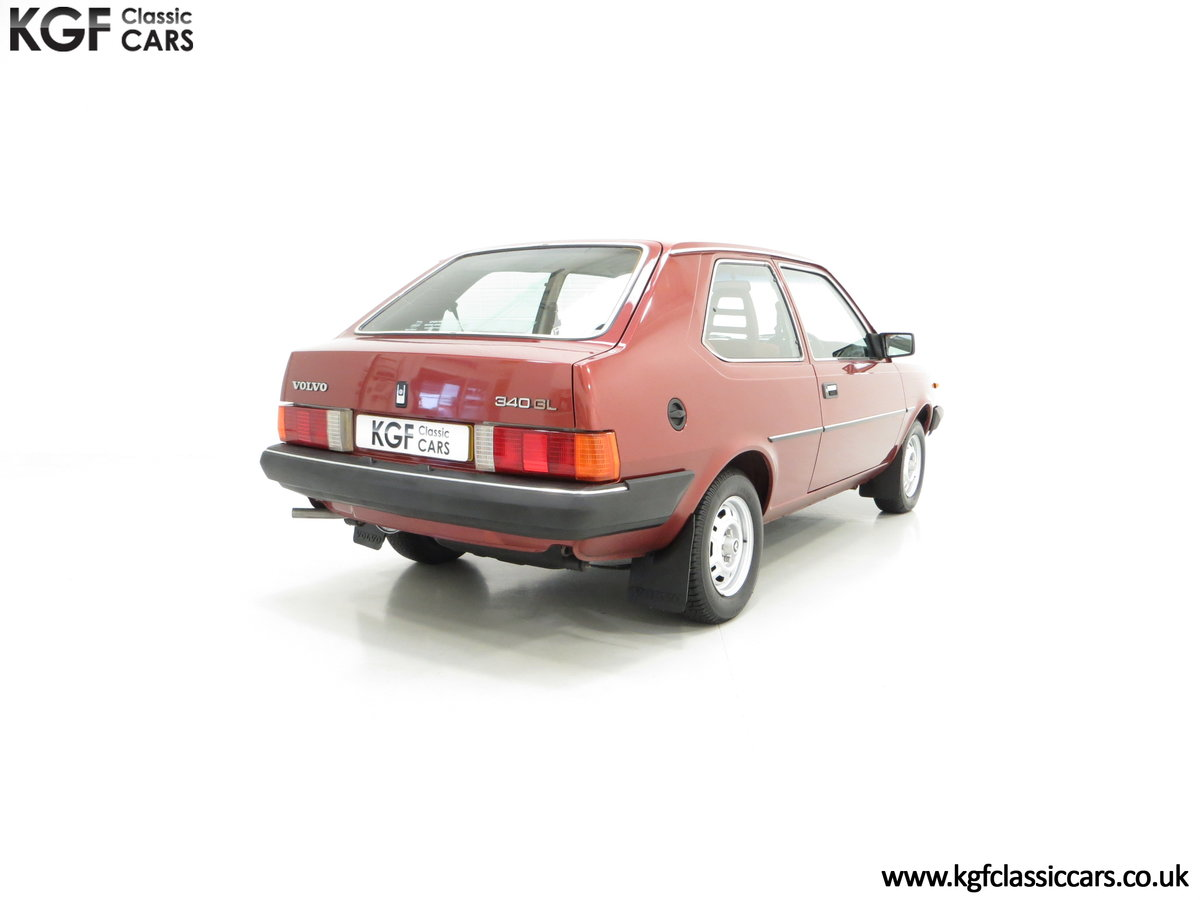 1984 An Astonishing and Original Volvo 340 GL with 9,843 Miles SOLD (picture 5 of 6)