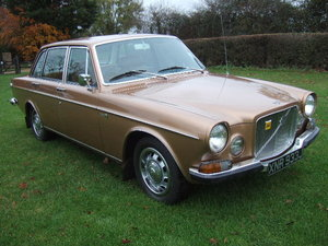 1971 Volvo 164 Saloon, 44000 miles, showroom condition For Sale