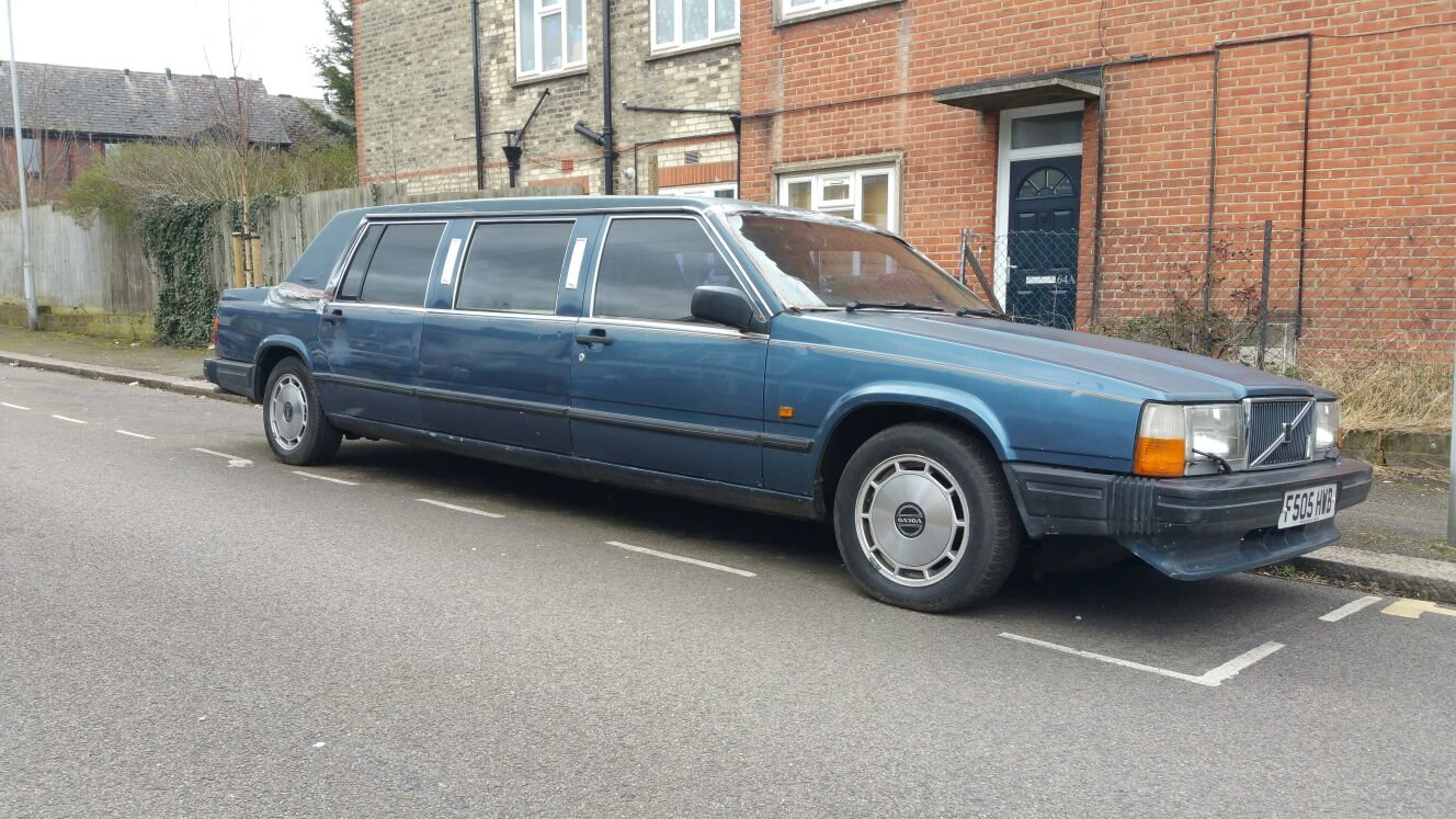 1989 volvo limousine NOT 6 DOORS extremely  rare  For Sale (picture 1 of 6)