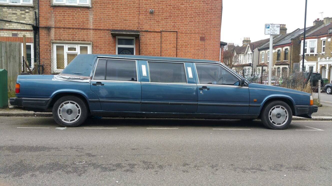 1989 volvo limousine NOT 6 DOORS extremely  rare  For Sale (picture 2 of 6)