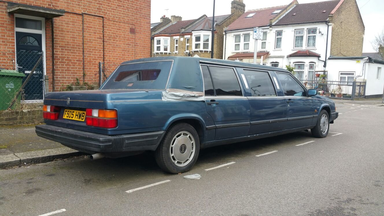 1989 volvo limousine NOT 6 DOORS extremely  rare  For Sale (picture 3 of 6)