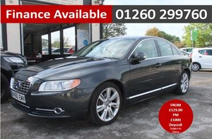 2010 VOLVO S80 2.0 D3 SE LUX 4DR AUTOMATIC GREY SOLD
