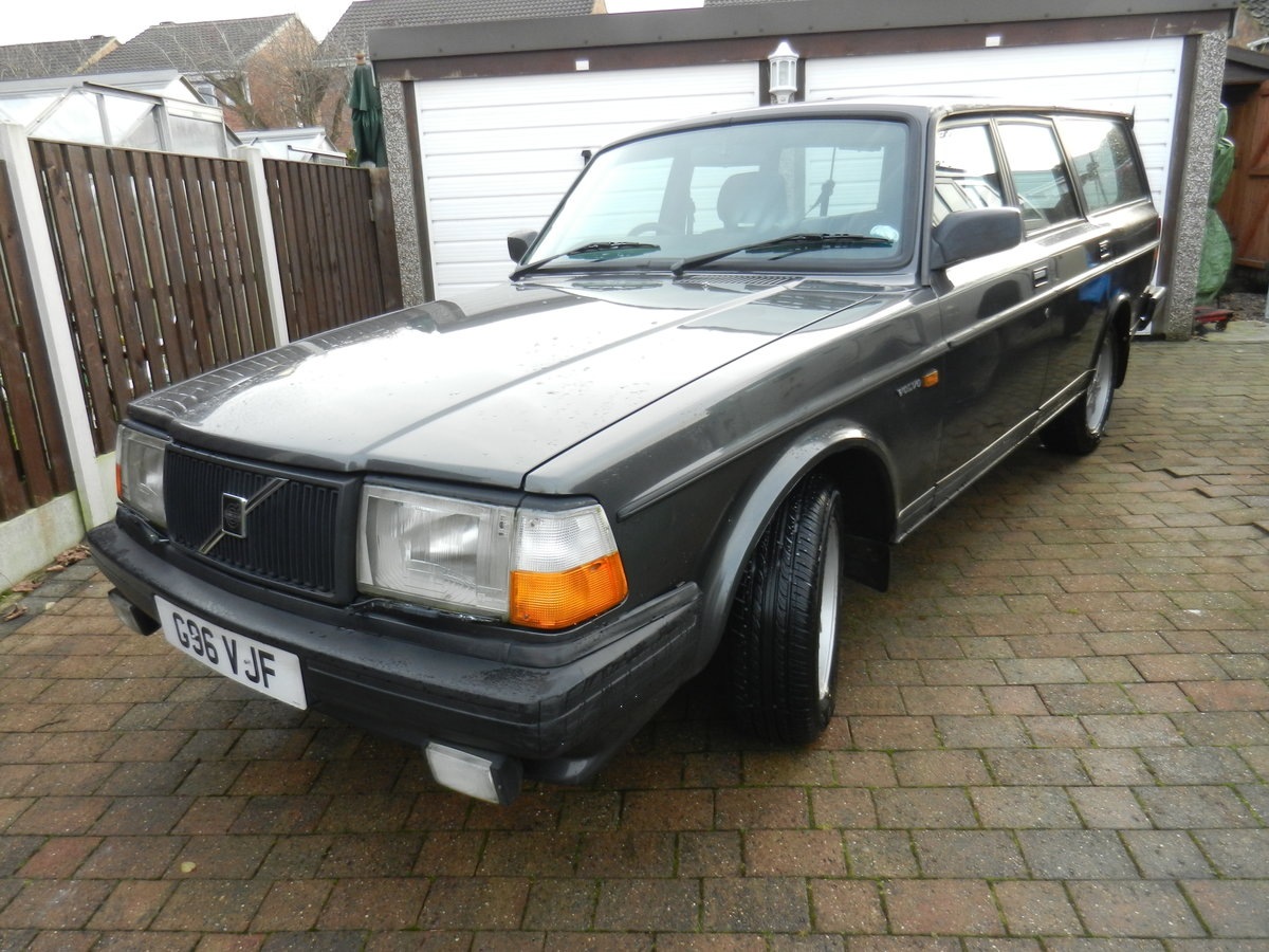1989 Volvo 240 GLT Estate SOLD (picture 1 of 3)