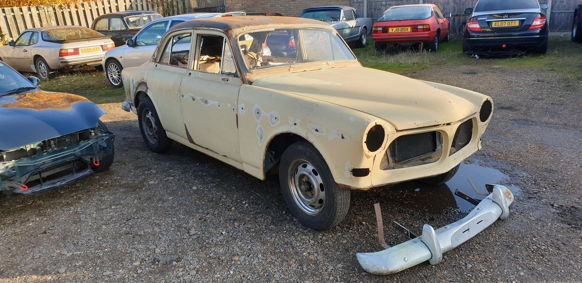 1967 Volvo 122S Amazon for Restoration For Sale (picture 1 of 6)