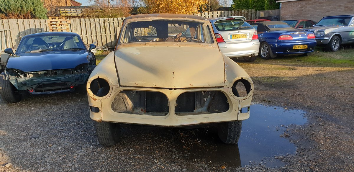 1967 Volvo 122S Amazon for Restoration For Sale (picture 3 of 6)