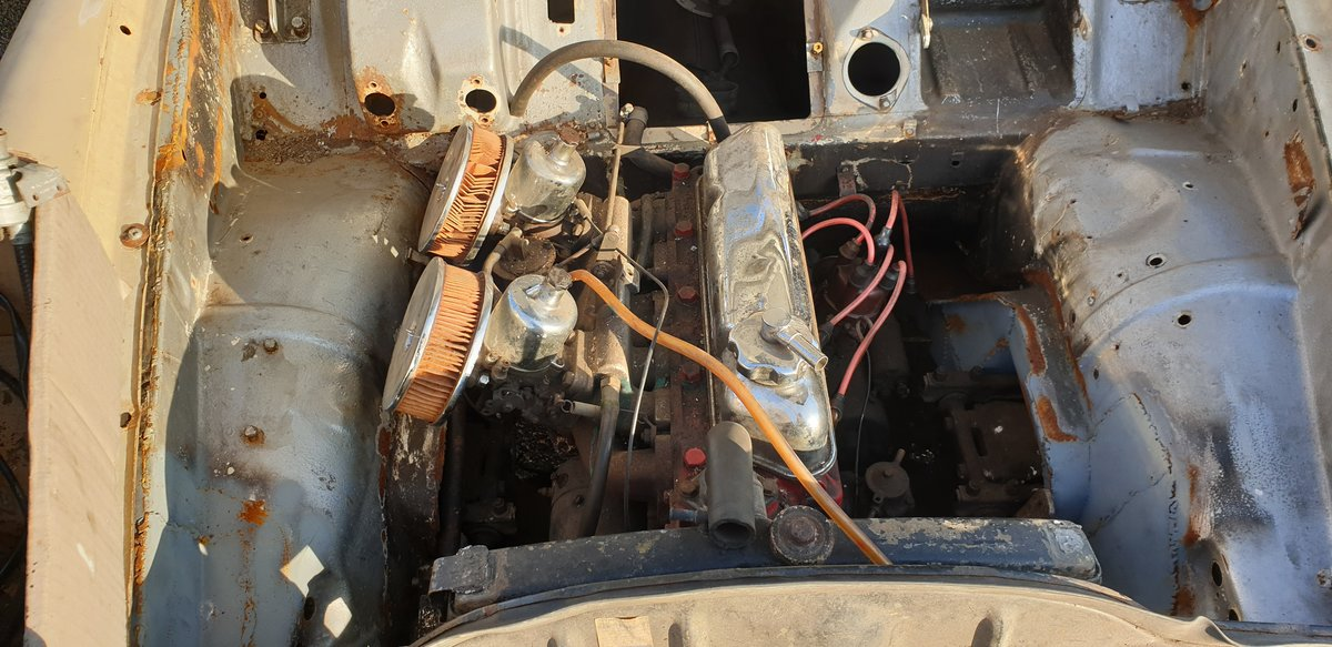 1967 Volvo 122S Amazon for Restoration For Sale (picture 4 of 6)