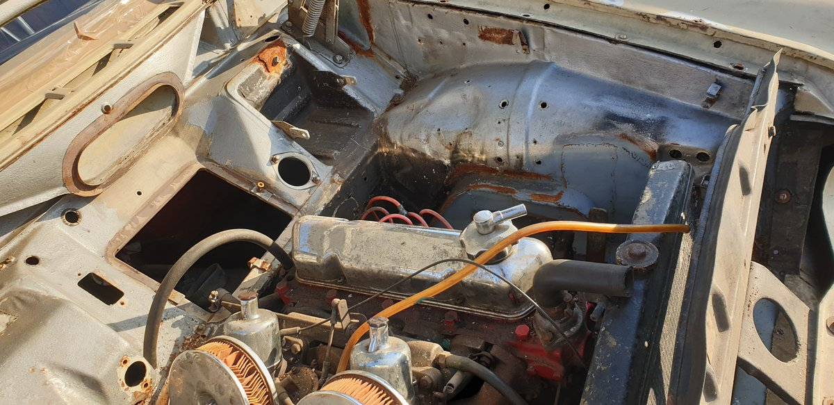 1967 Volvo 122S Amazon for Restoration For Sale (picture 5 of 6)
