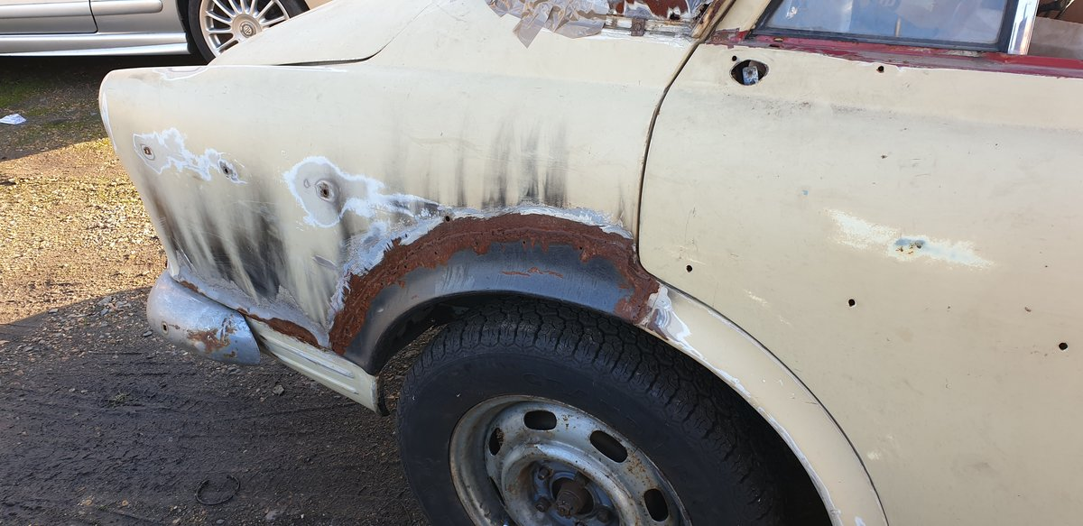 1967 Volvo 122S Amazon for Restoration For Sale (picture 6 of 6)