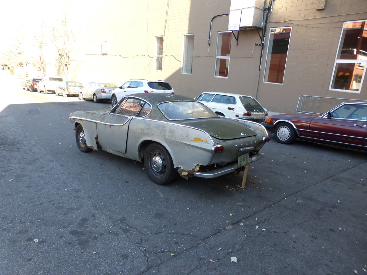 1965 Volvo P1800S Parts Car Or Total Restoration - For Sale (picture 4 of 6)
