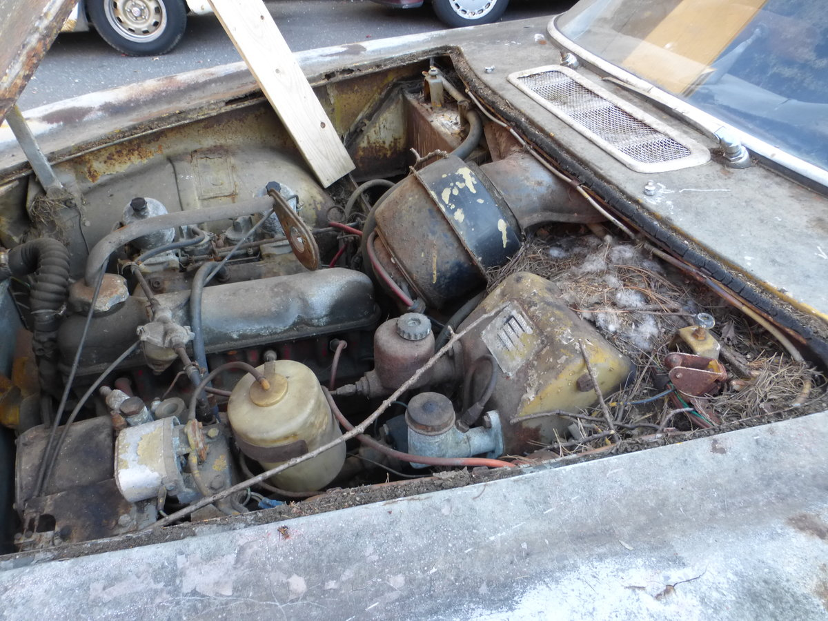 1965 Volvo P1800S Parts Car Or Total Restoration - For Sale (picture 6 of 6)