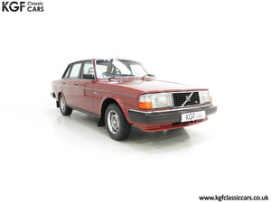 1982 An Incredible Volvo 244GL with Only Two Owners 36,639 Miles SOLD