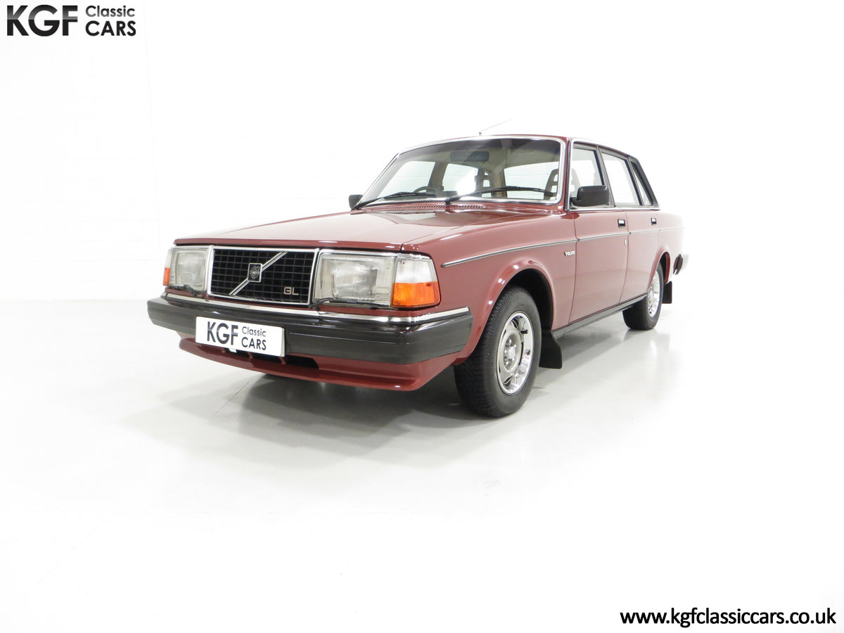 1982 An Incredible Volvo 244GL with Only Two Owners 36,639 Miles SOLD (picture 2 of 6)