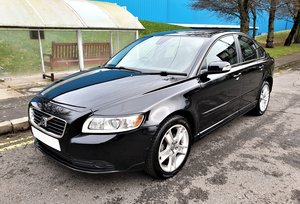 2009 VOLVO S40 1.6 DIESEL FULL LEATHER ALLOYS A/C ETC FULL MOT
