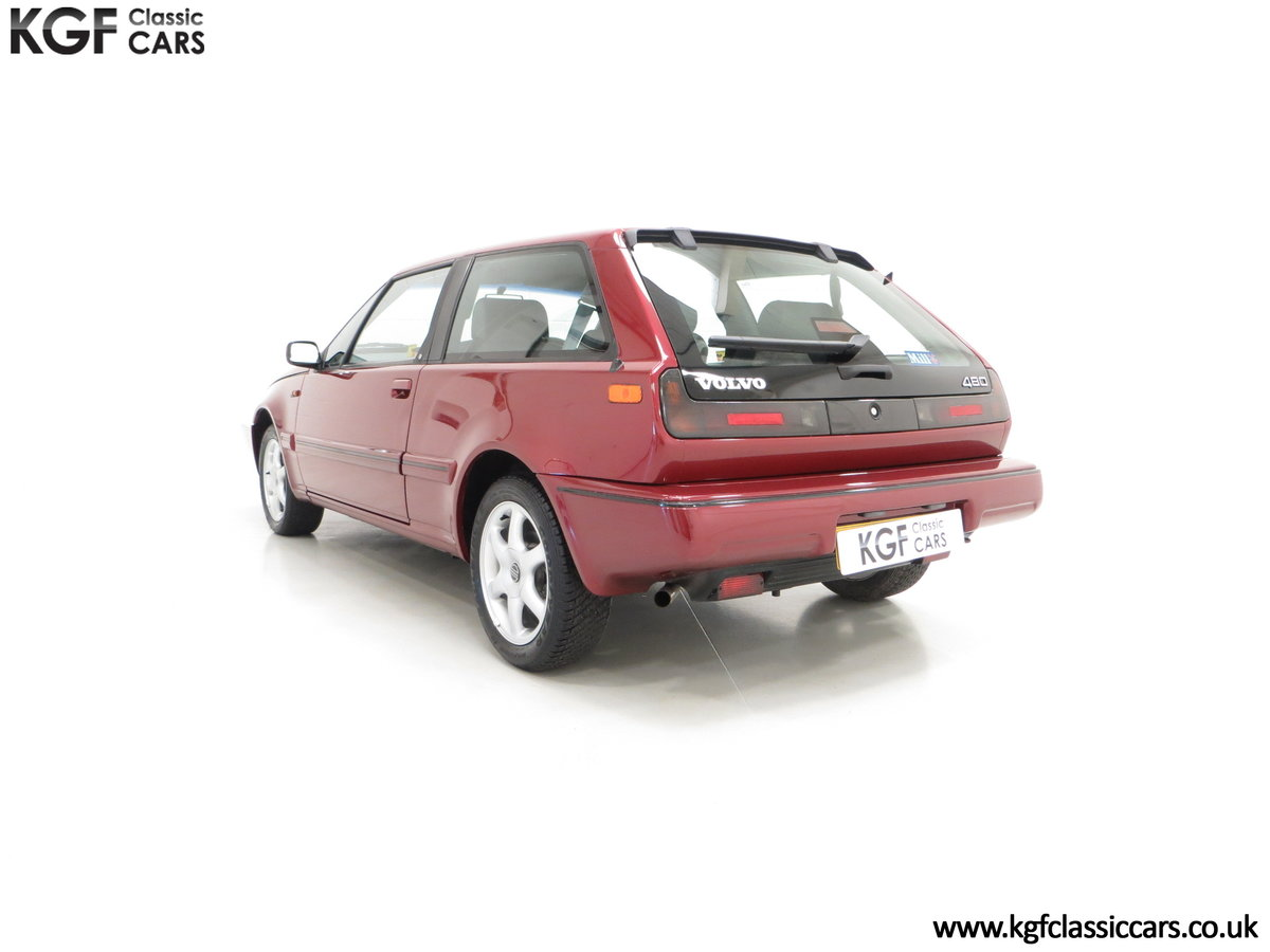 1995 An Original Volvo 480 Celebration with Just 15,755 Miles SOLD (picture 4 of 6)
