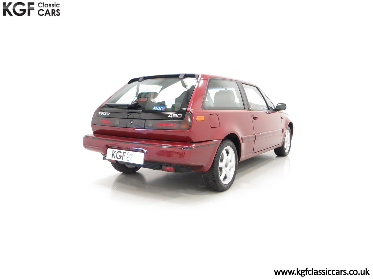 1995 An Original Volvo 480 Celebration with Just 15,755 Miles SOLD (picture 5 of 6)