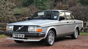 1989 Volvo 240 glt 49000 miles one owner from new For Sale