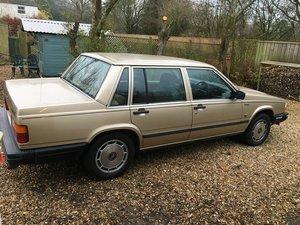 1986 Volvo 740 GL Auto  For Sale
