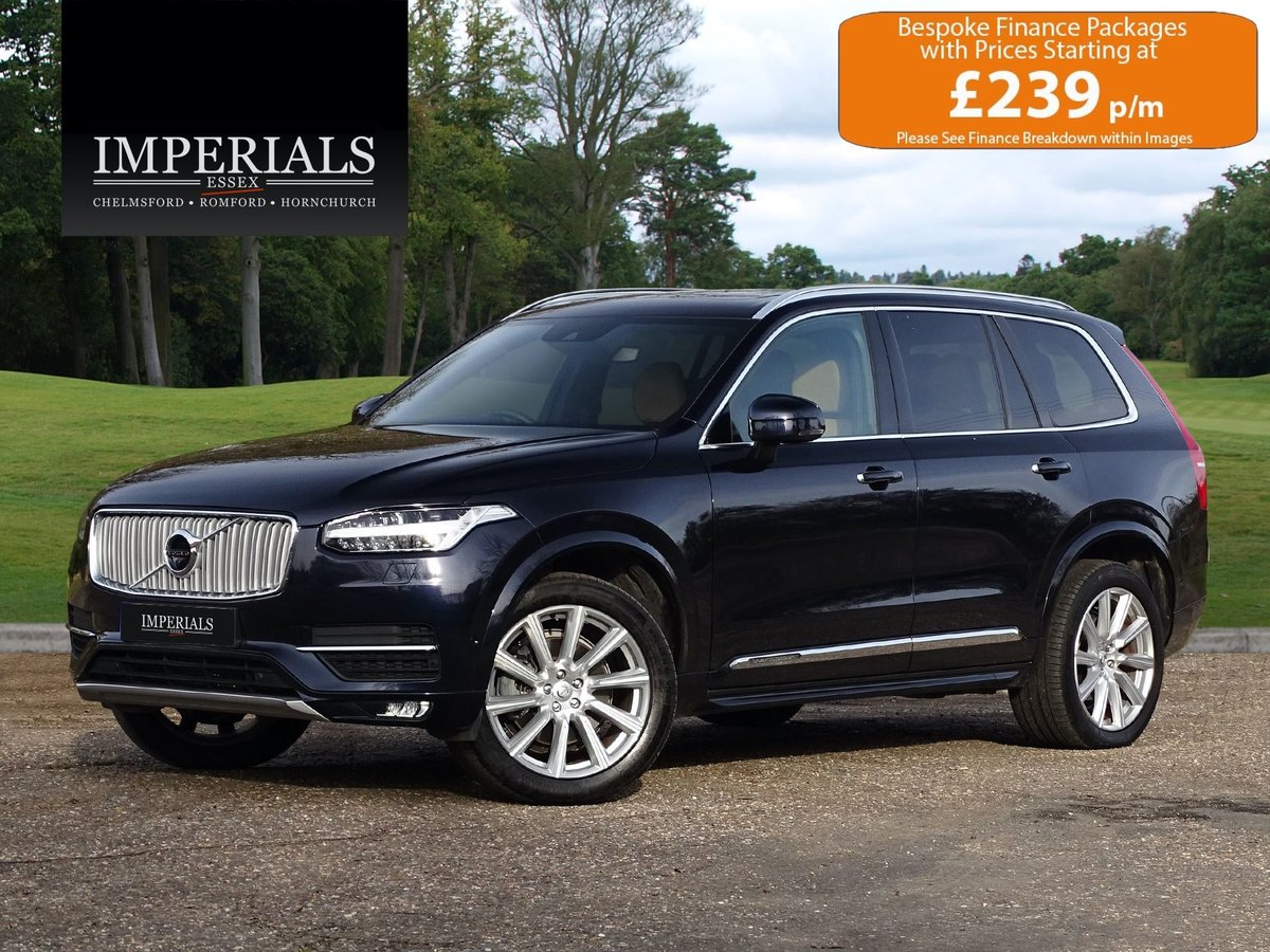 2016 Volvo  XC90  2.0 D5 POWERPULSE INSCRIPTION AWD AUTO  34,948 For Sale (picture 1 of 16)
