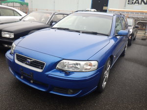 2006 VOLVO V70 R ESTATE 2.5 AWD 300 BHP AUTO * RARE SONIC BLUE For Sale