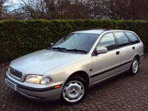 1997 A Wonderful Low Mileage Volvo V40 2.0 Petrol Estate NOW SOLD