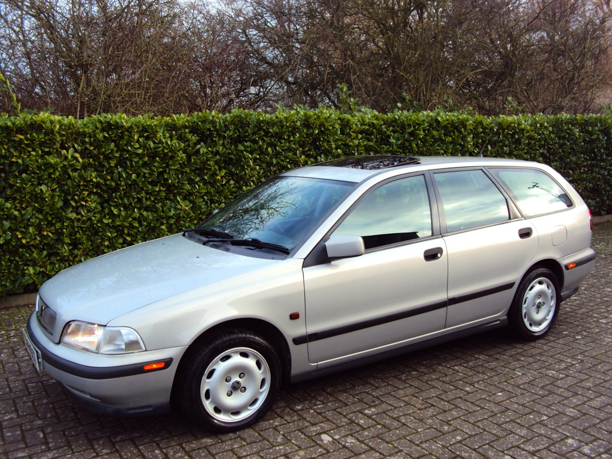 1997 A Wonderful Low Mileage Volvo V40 2.0 Petrol Estate NOW SOLD For Sale (picture 2 of 6)
