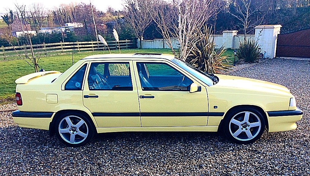 1995 VOLVO 850 T-5R LTD EDITION 1 OF 39 UK YELLOW SALOONS For Sale (picture 2 of 6)