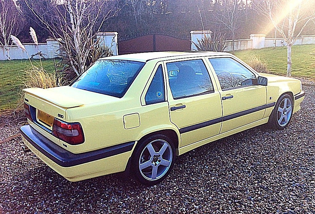 1995 VOLVO 850 T-5R LTD EDITION 1 OF 39 UK YELLOW SALOONS For Sale (picture 3 of 6)