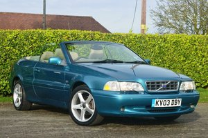 2003/03 Volvo C70 T GT 2.4 Auto Convertible*F-S-H* *23,000M* For Sale