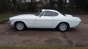 1967 Volvo 1800S for sale, white with red