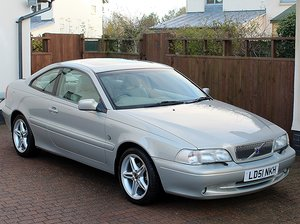 2001 Volvo C70 2.0 20V GT Coupe,