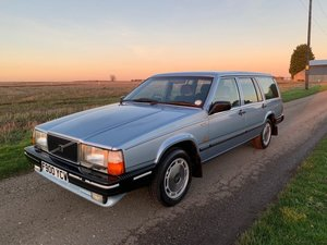 1989 Volvo 740 GLE 2.3 Auto SOLD by Auction