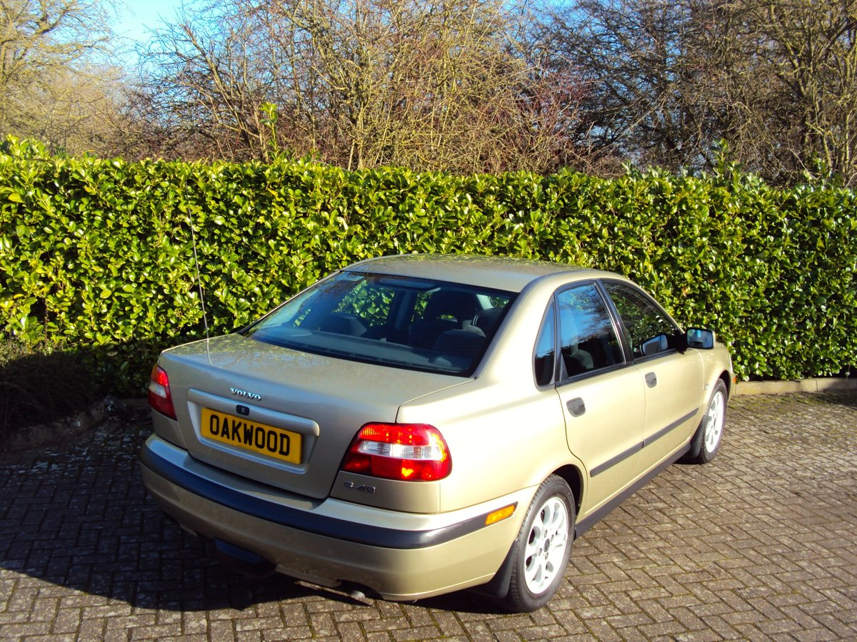 2001 Volvo S40 1.9D - 55K MILES - 16 x VOLVO SERVICES!!!! For Sale (picture 3 of 6)