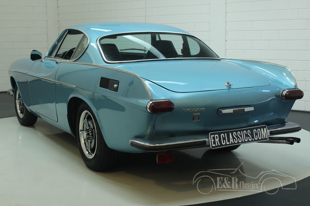 Volvo P1800 E 1972 overdrive, Light Blue Metallic For Sale (picture 6 of 6)