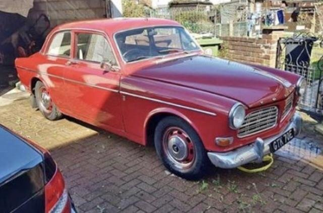 1967 Volvo Amazon 123 GT. P130 2 dr Mod. Rare Rhd Uk GT SOLD (picture 1 of 6)