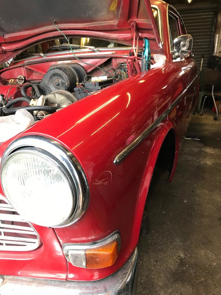 1967 Volvo Amazon 123 GT. P130 2 dr Mod. Rare Rhd Uk GT SOLD (picture 5 of 6)