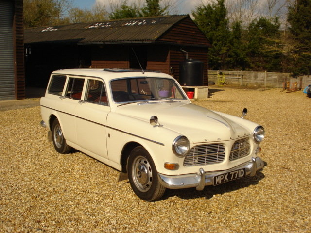 1966 Volvo Amazon Estate in Great Condition For Sale (picture 1 of 6)