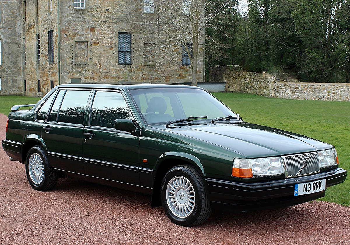 1996 Volvo 940 2.3T Automatic Saloon, Only 38813 Miles. For Sale (picture 1 of 6)