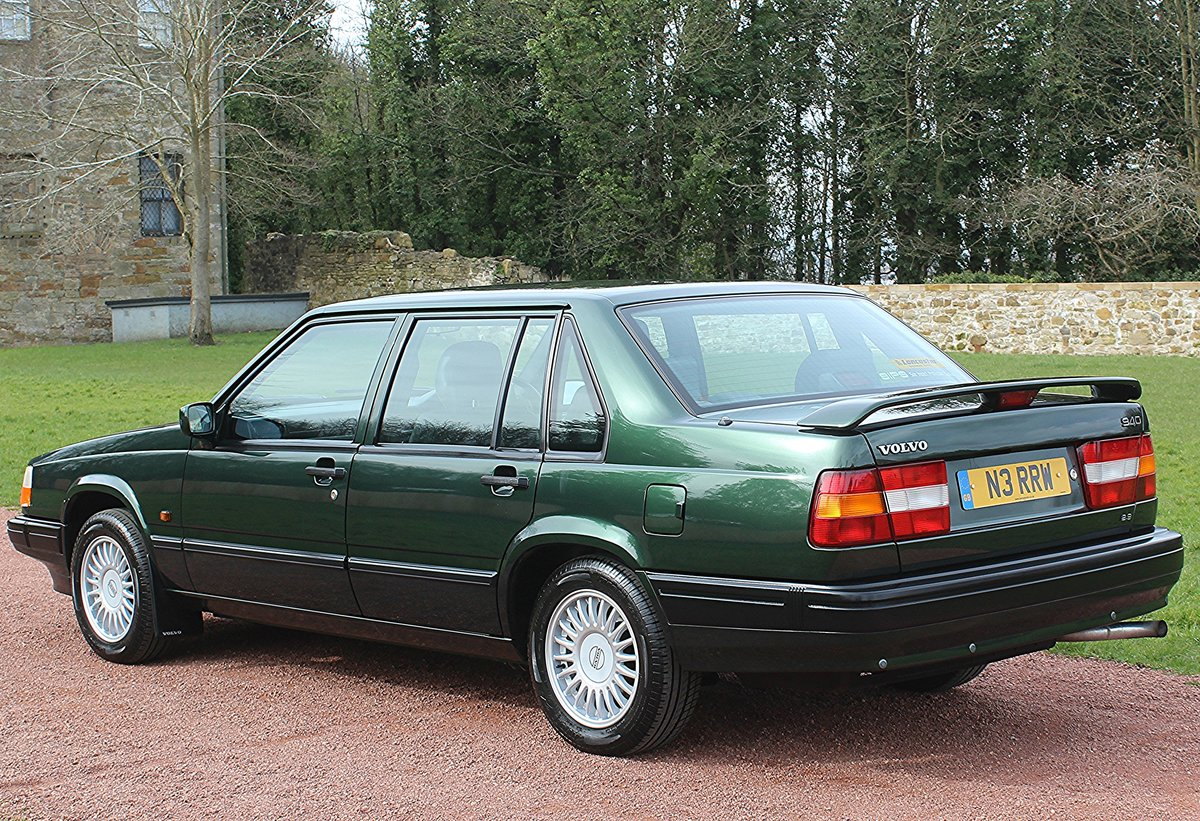1996 Volvo 940 2.3T Automatic Saloon, Only 38813 Miles. For Sale (picture 3 of 6)