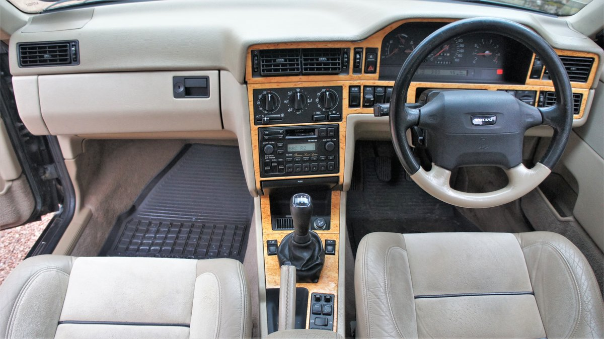1996 Volvo 850r saloon ultra rare manual investment For Sale (picture 4 of 6)