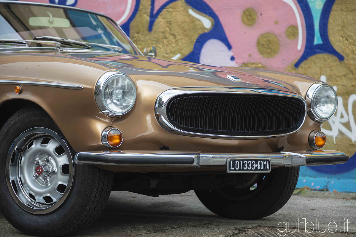 1972 Volvo 1800ES Gold metallic, great conditions For Sale (picture 2 of 6)