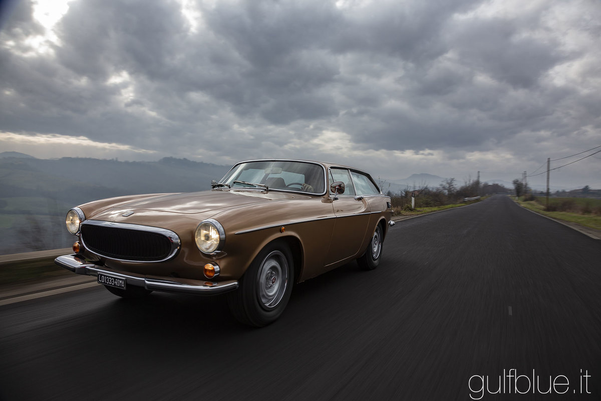 1972 Volvo 1800ES Gold metallic, great conditions For Sale (picture 3 of 6)