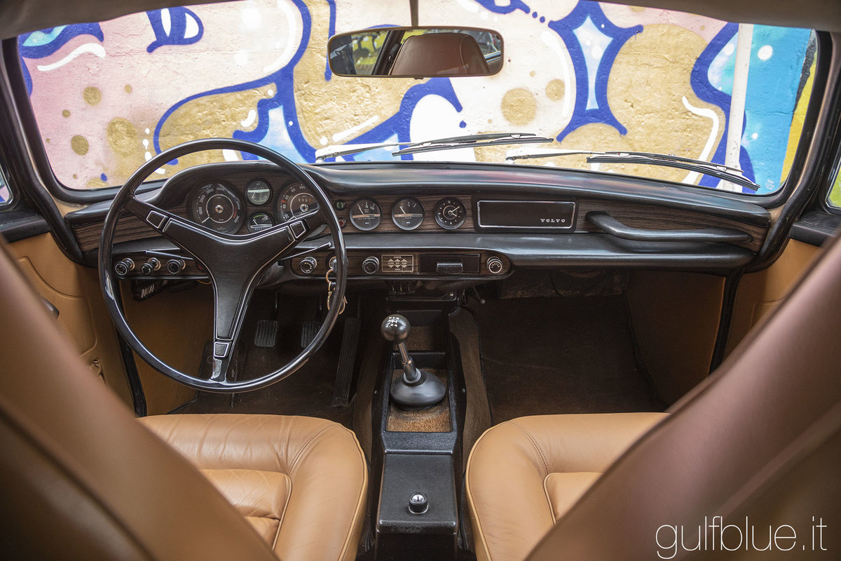 1972 Volvo 1800ES Gold metallic, great conditions For Sale (picture 4 of 6)