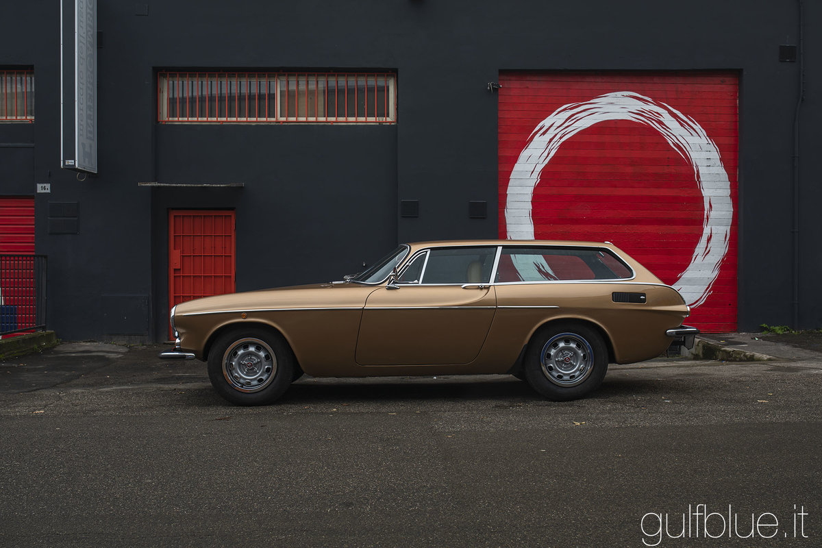 1972 Volvo 1800ES Gold metallic, great conditions For Sale (picture 6 of 6)