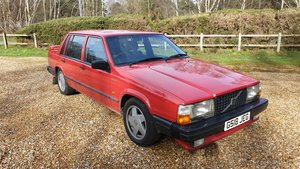1989 Volvo 740 Turbo saloon in Excellent condition