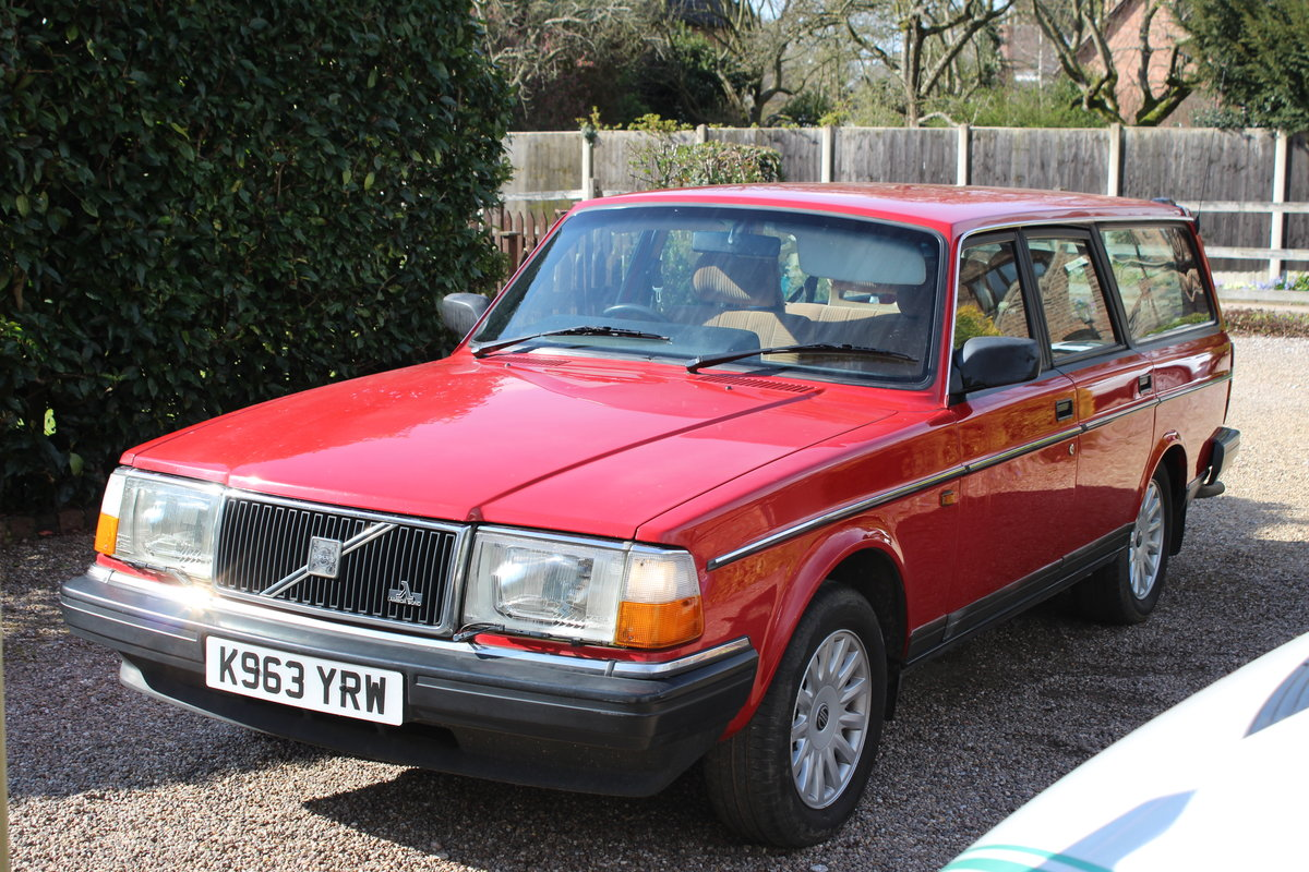 1992 Volvo 240 se estate 2.0 l  lpg conversion For Sale (picture 1 of 6)