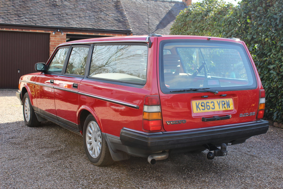 1992 Volvo 240 se estate 2.0 l  lpg conversion For Sale (picture 2 of 6)