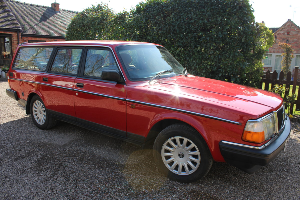 1992 Volvo 240 se estate 2.0 l  lpg conversion For Sale (picture 5 of 6)