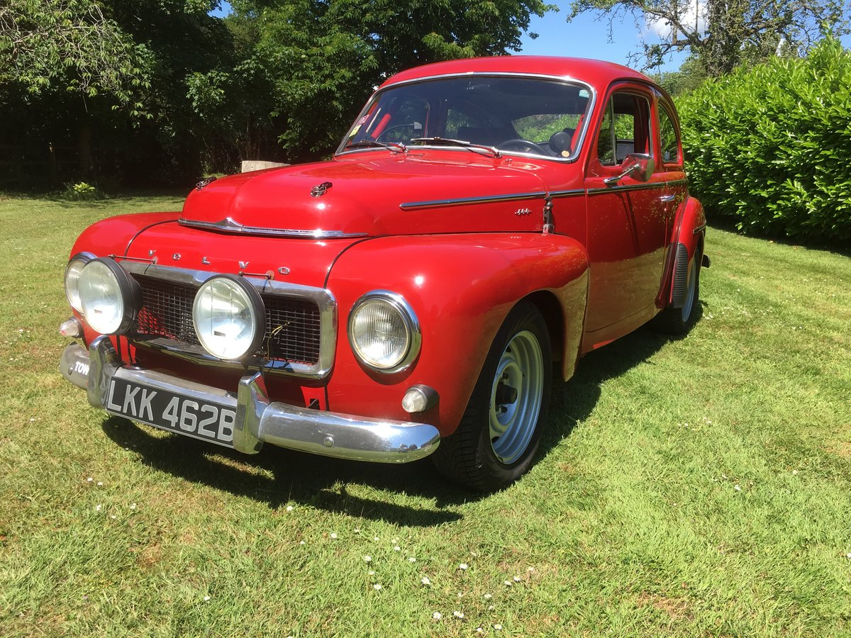 1964 Volvo PV 544 Sport Classic Rally Car For Sale (picture 1 of 6)