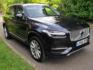 VOLVO XC90 2017 2.0 T8 HYBRID POLESTAR 30K VFSH - MAGIC BLUE